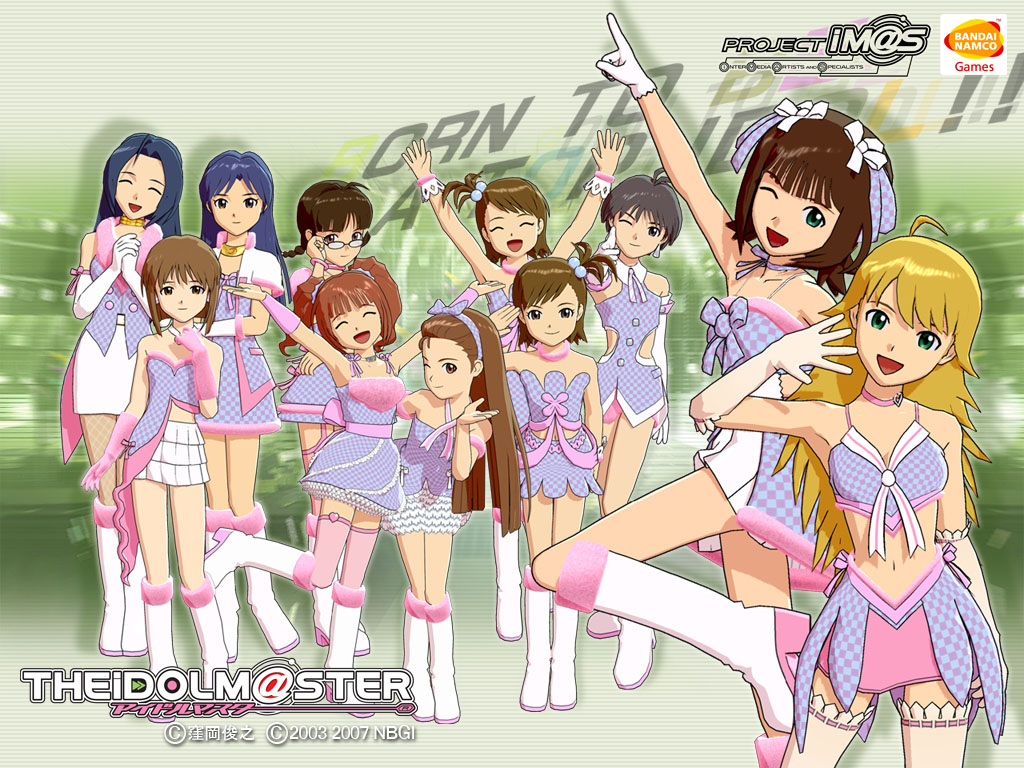 Idol M Ster Anime Characters : The idolm ster